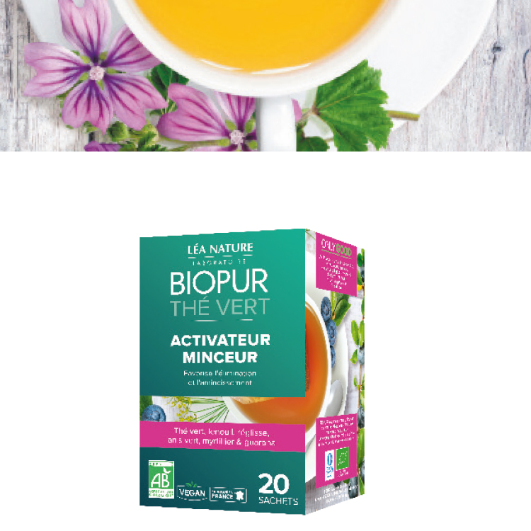 Gamme BIOPUR® THÉS ET INFUSIONS