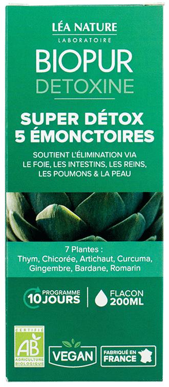 Cocktail Détox 5 émonctoires BIOPUR®