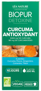 Cocktail Detoxine Curcuma Antioxydant