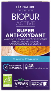 Gélules ACTIVE Super anti-oxydant BIOPUR®