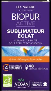 Gélules ACTIVE Sublimateur d'éclat BIOPUR®