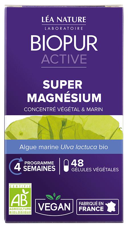 Gélule Active Super Magnésium
