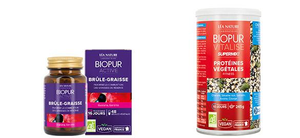 Produits complémentaires Gélules Perte de poids Biopur