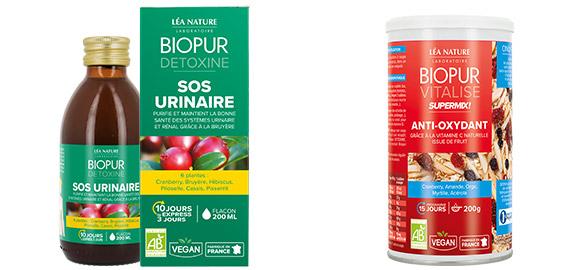 Produits complémentaires Gélules Confort Urinaire BIOPUR