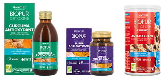 Produits complémentaires au thé vert Curcuma BIOPUR