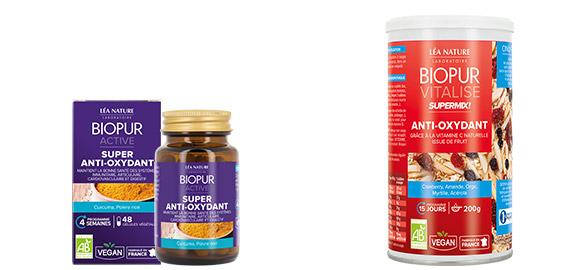 Produits complémentaires Programme anti-oxydant BIOPUR
