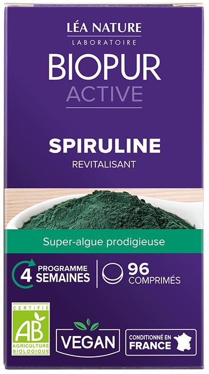 Gélules Active Spiruline Biopur