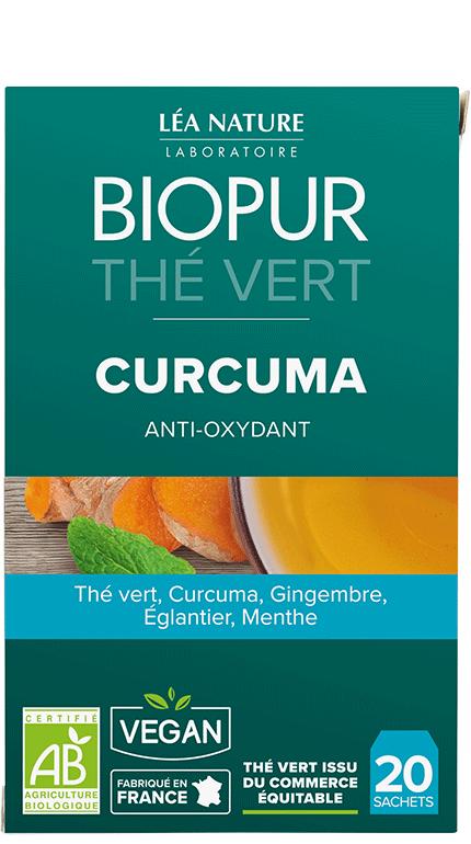 Thé vert Curcuma Anti-oxydant Biopur